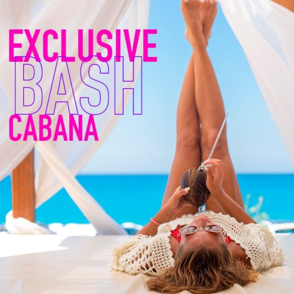 Temptation Experience Online Shop | Exclusive Bash Cabana