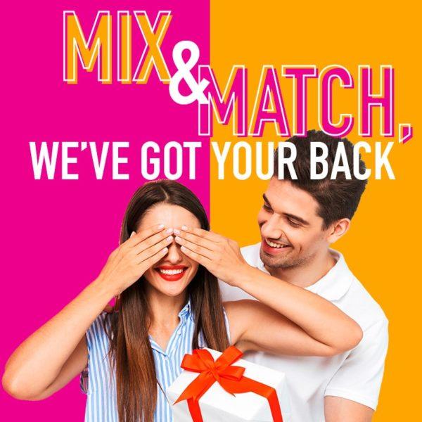 Temptation Experience Online Shop | Mix & Match Signature Experience