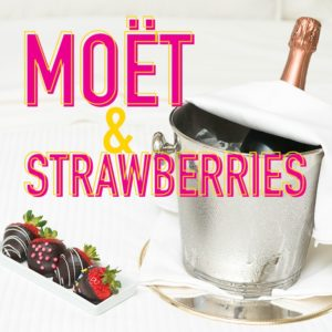 Temptation Experience Online Shop | Möet & Strawberries Experiencia Insignia