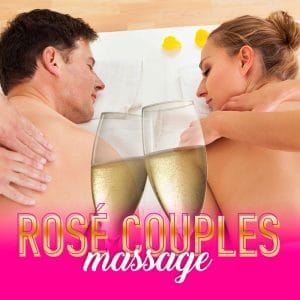 Temptation Experience Online Store | Rosé Couples Massage